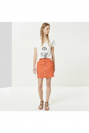 تنورة قصيرة جينز بازرار