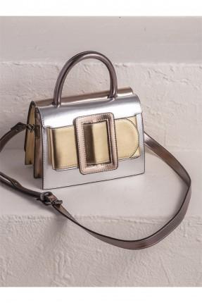 حقيبة يد نسائية مزينة بحزام