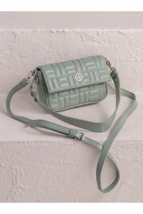 حقيبة يد نسائية بحبكة