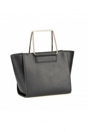 حقيبة يد نسائية بسحاب من الخلف