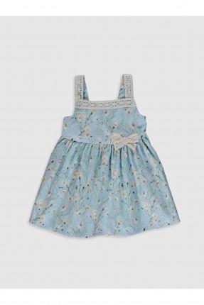 فستان بيبي بناتي بوبلين