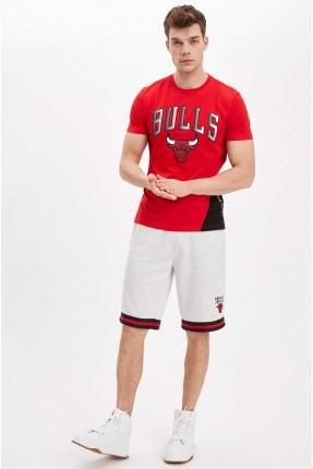 شورت رجالي سبور بطبعة NBA