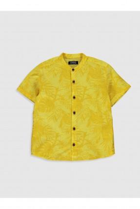 قميص اطفال ولادي بوبلين نصف كم