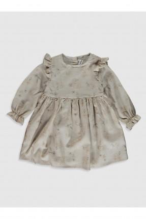 فستان بيبي بناتي بكشكش