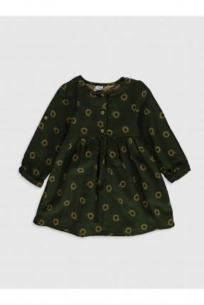 فستان بيبي بناتي بطبعة ورود