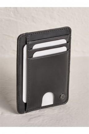 محفظة بطاقات رجالية سادة اللون