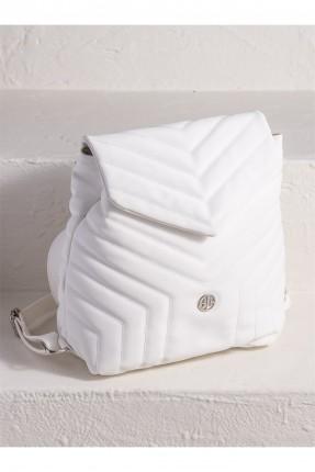 حقيبة ظهر نسائية بحبكة