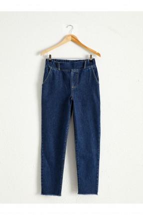 بنطال نسائي جينز سادة