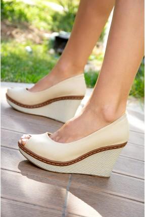 حذاء نسائي كعب سابو
