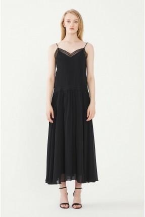 فستان رسمي سادة اللون