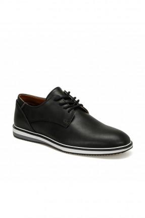 حذاء رجالي بنعل مخطط بلونين