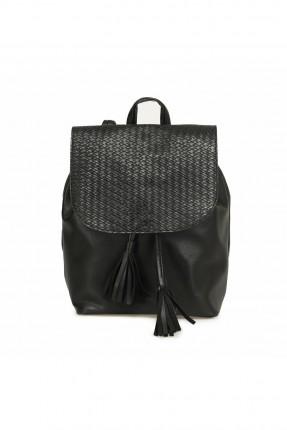 حقيبة ظهر نسائية بشراشيب