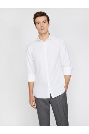 قميص رجالي سادة اللون