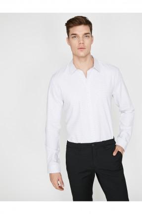قميص رجالي منقط