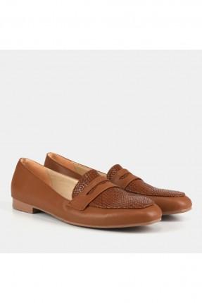 حذاء نسائي بنقشة من الامام