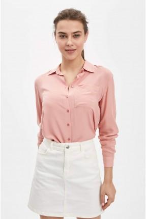 قميص نسائي بازرار