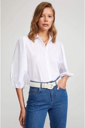 قميص نسائي باكمام واسعة