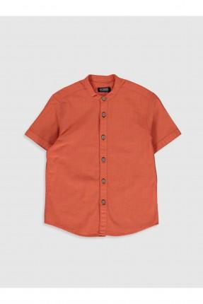 قميص اطفال ولادي بوبلين