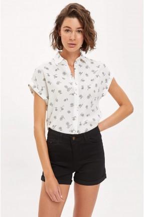 قميص نسائي مورد