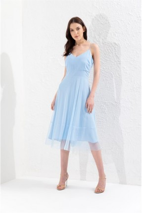 فستان سبور شيال مع تول