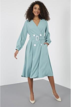 فستان سبور سادة اللون