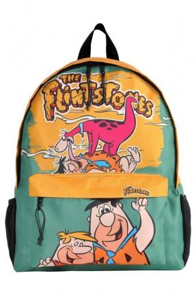 حقيبة ظهر اطفال ولادي بطبعة فلينستون
