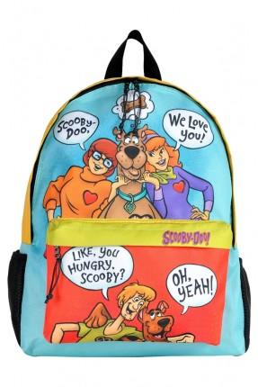 حقيبة ظهر اطفال ولادي بطبعة سكوبي دو