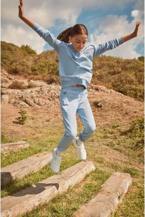 بيجاما رياضية اطفال بناتي بجيوب