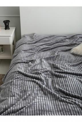 بطانية سرير اطفال ولادي مخطط