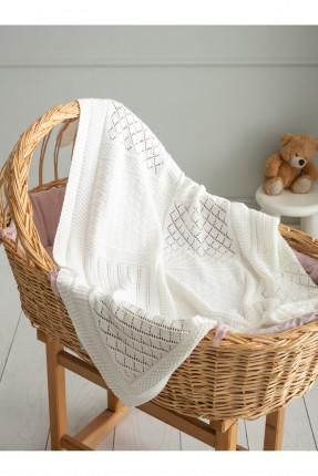 بطانية سرير بيبي مفرغة