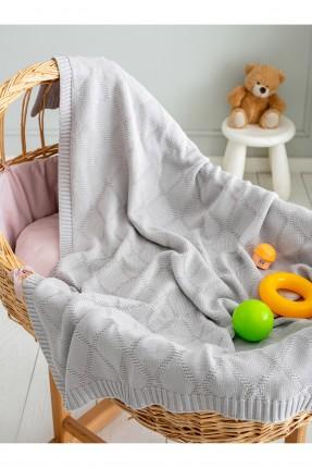 بطانية سرير بيبي تريكو