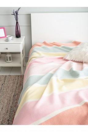 بطانية سرير اطفال ملونة