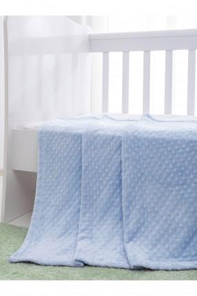 بطانية سرير بيبي منقط