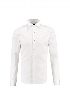 قميص رجالي بياقة كلاسيكية
