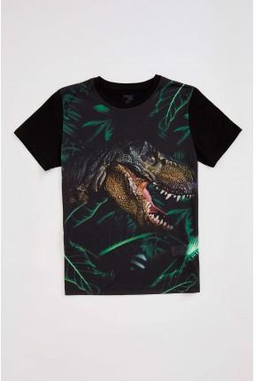 تيشرت اطفال ولادي بطبعة ديناصور