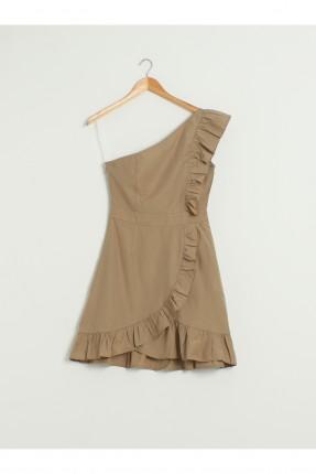 فستان رسمي بكتف واحد