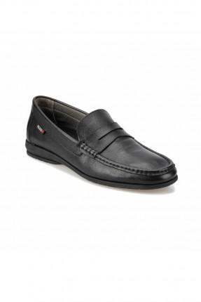 حذاء رجالي مزين باطار محبوك من الامام