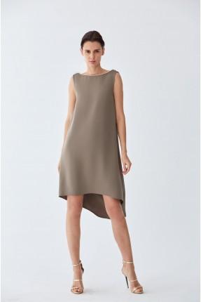 فستان سبور غير متوازي الطول
