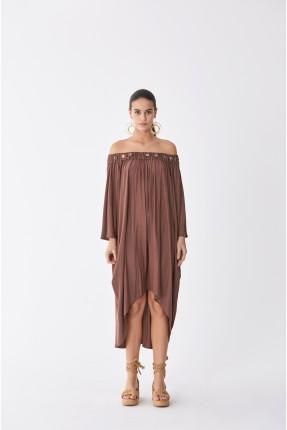 فستان سبور باكتاف منخفضة