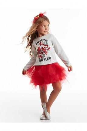 فستان اطفال بناتي بكشكش