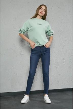 بنطال نسائي جينز ضيق