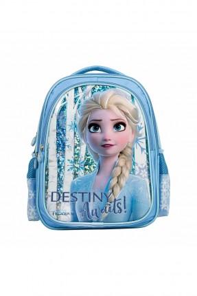 حقيبة مدرسية اطفال بناتي بطبعة فروزين - ازرق