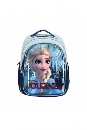حقيبة مدرسية اطفال بناتي بطبعة فروزين
