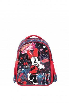 حقيبة مدرسية اطفال بناتي بطبعة ميني ماوس