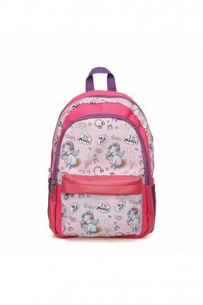 حقيبة مدرسية اطفال بناتي بطبعة يونيكورن