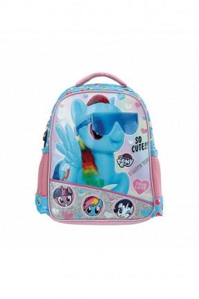 حقيبة مدرسية اطفال بناتي بطبعة بوني - زهري