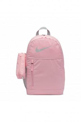 حقيبة مدرسية اطفال بناتي بشعار Nike -زهري