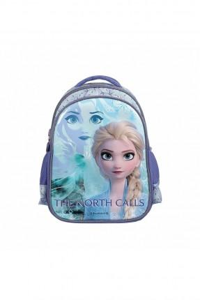حقيبة مدرسية اطفال بناتي بطبعة فروزين - بنفسجي