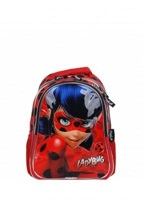 حقيبة مدرسية اطفال بناتي بطبعة مارينت