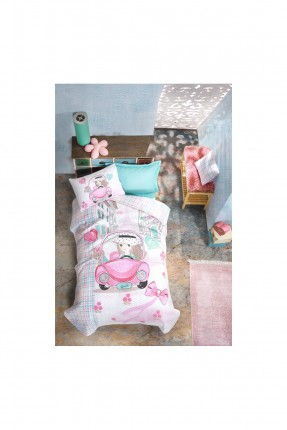 طقم غطاء سرير اطفال بناتي
